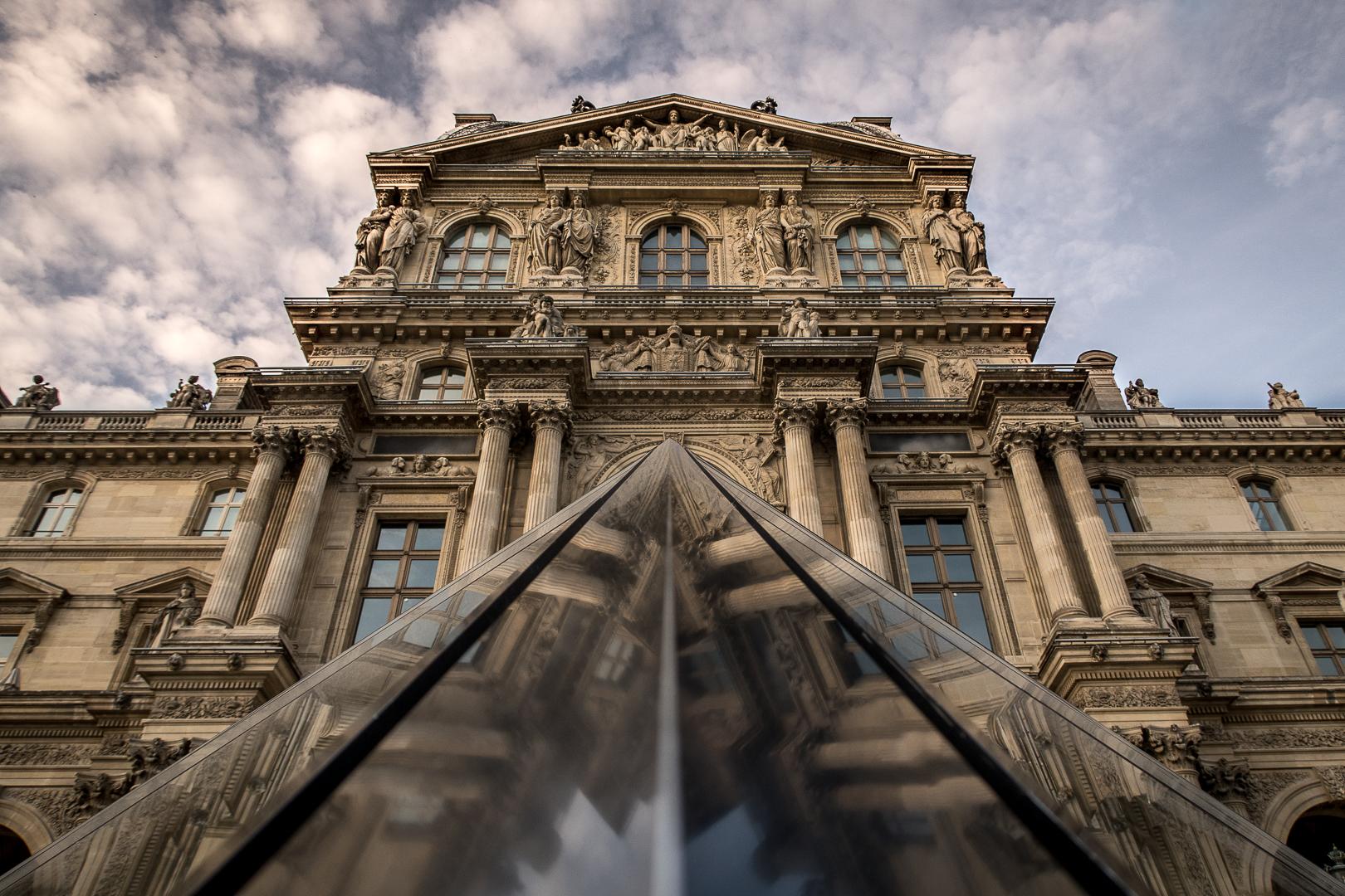 the Louvre paris photography architecture